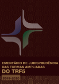 Capa da Revista Ementário de Jurisprudência TRF5 - 2019 / 2020